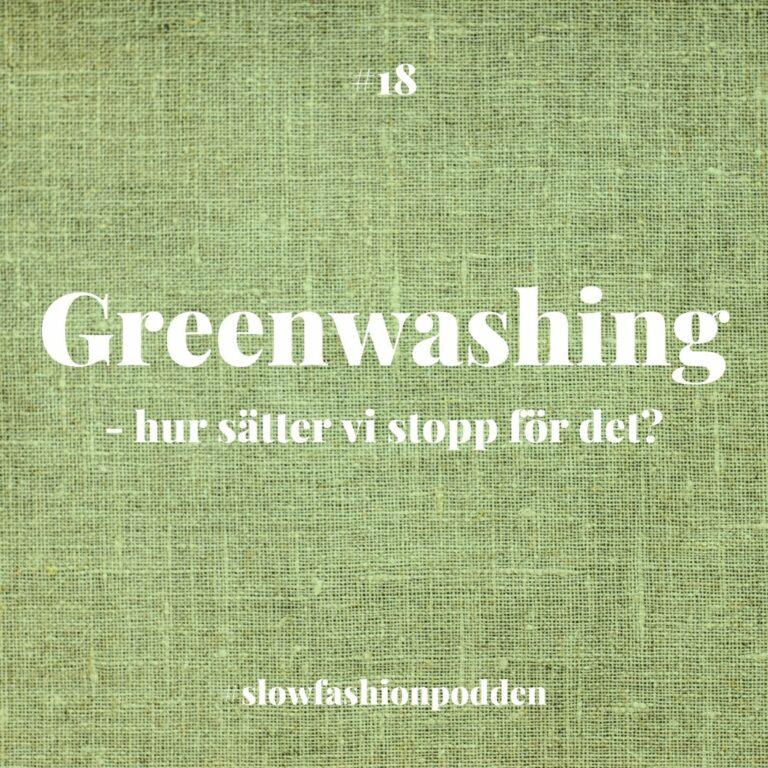 Greenwashing – hur sätter vi stopp för det?
