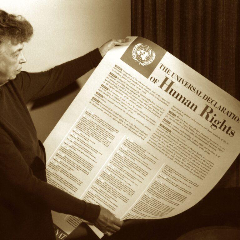 De universella mänskliga rättigheterna: Att formulera människans godhet